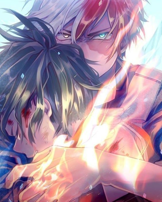 Photo of I will always be here to protect you Midoriya  I will kill anyone who tries to h…