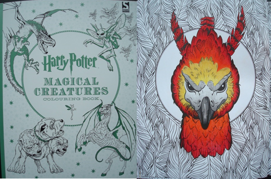 Harry Potter Magical Creatures Colouring Book A Review