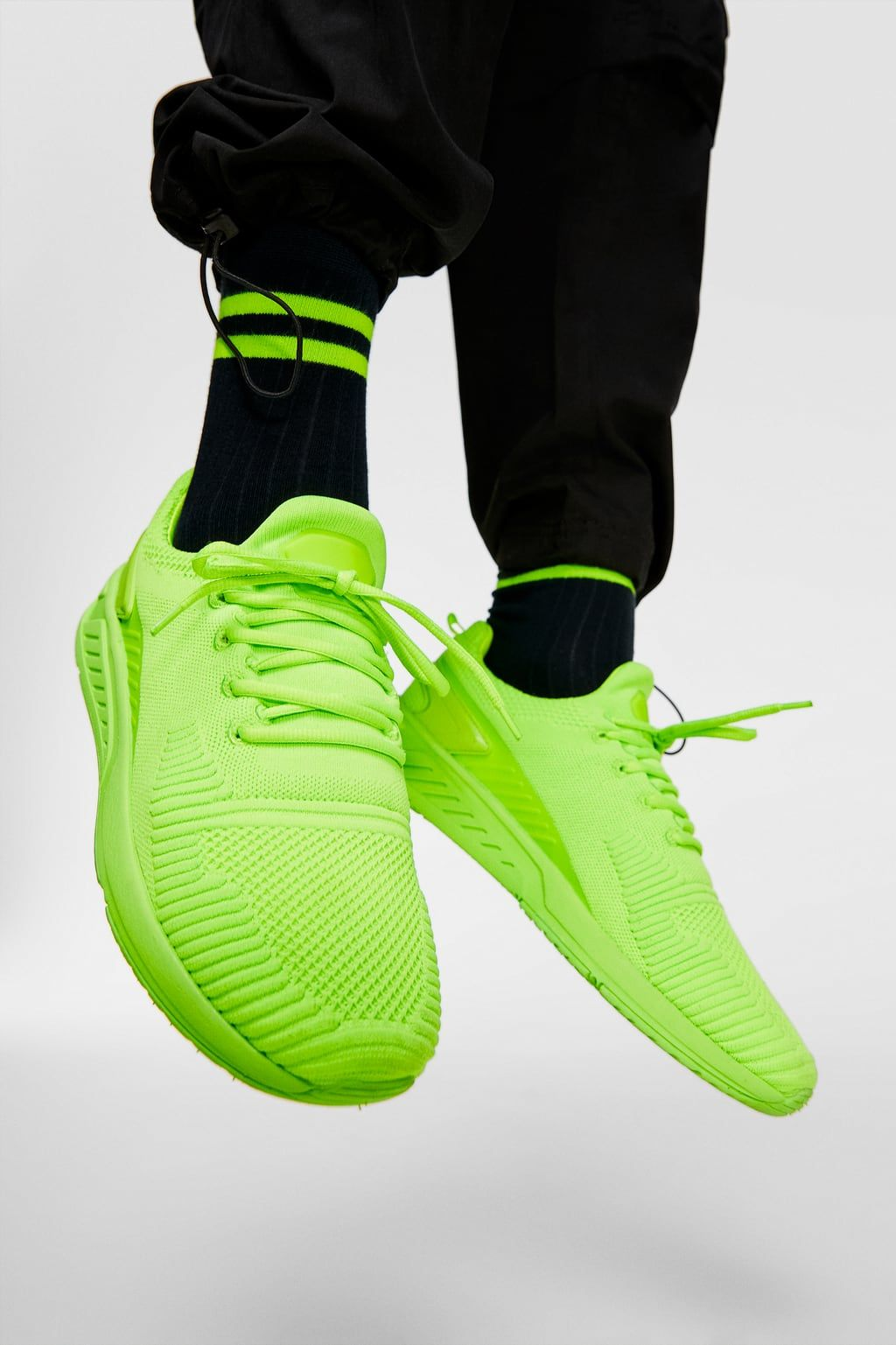 Fluorescent Soft Sneakers Special Sizes Shoes Man Zara United States