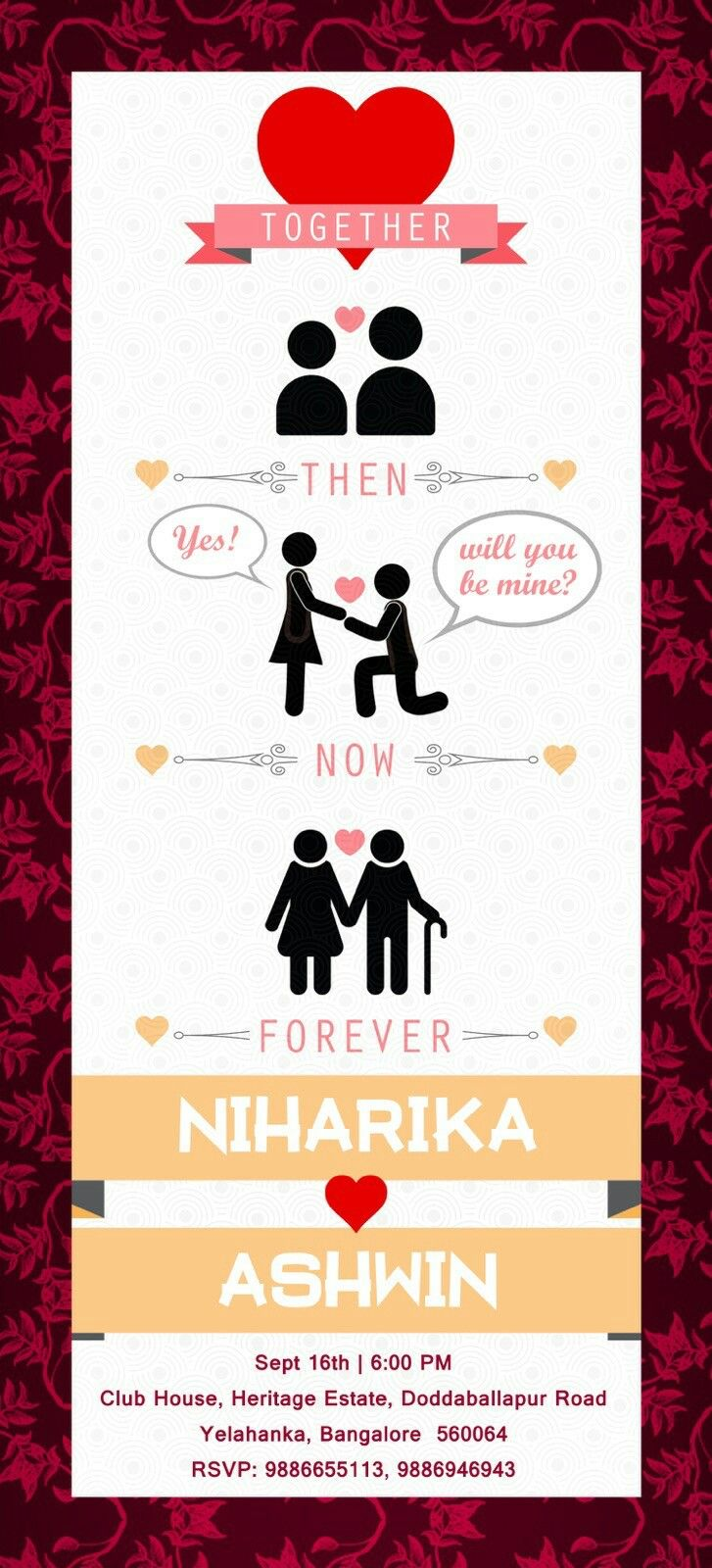 Quirky cute wedding cards bangalore india | Wedding cards ...