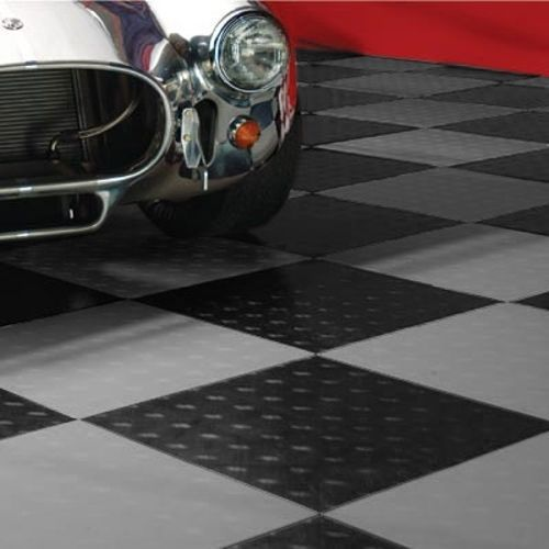 Motofloor Modular Garage Flooring Tiles 48 Square Feet Per Box 1 X 1 Tiles Garage Floor Garage Floor Tiles Garage Decor