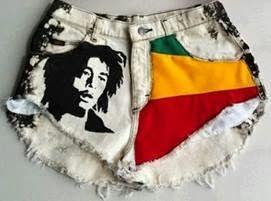 Short reggae Bob Marley