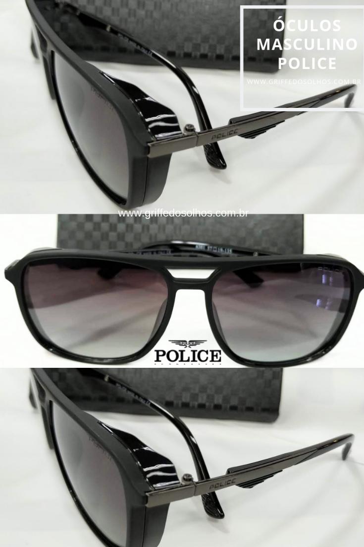 03833a4352 ... Griffe dos Olhos. Óculos Police Masculino  oculospolice  modamasculina   homemcomestilo  oculosdesol