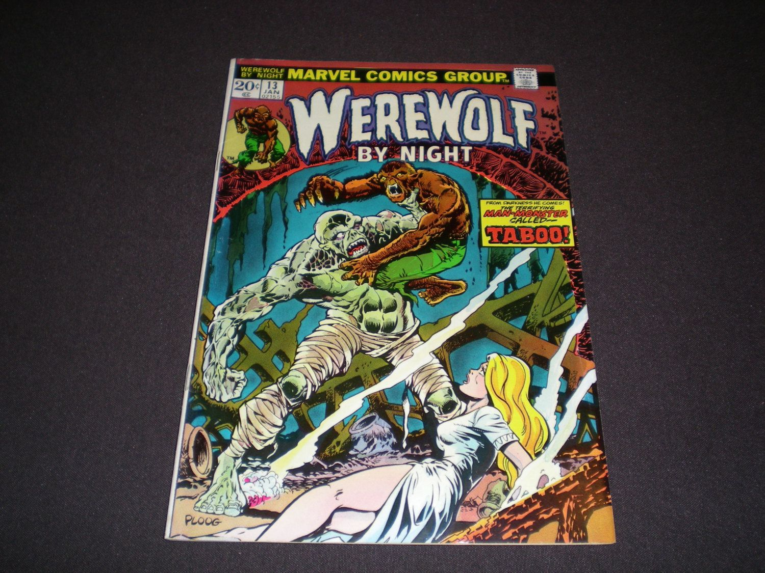 Werewolf by Night 13, (1974), Marvel Comics by HeroesRealm on Etsy