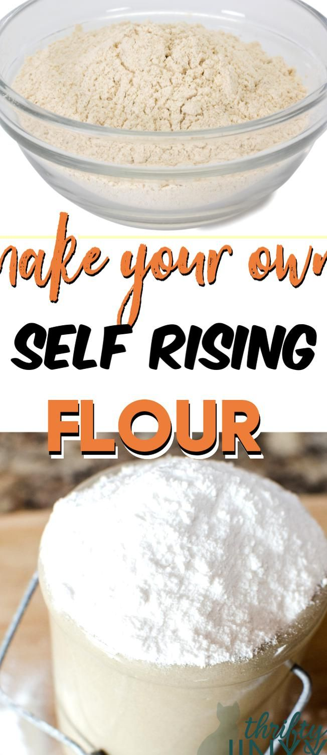 These easy instructions for how to make self rising flour ...