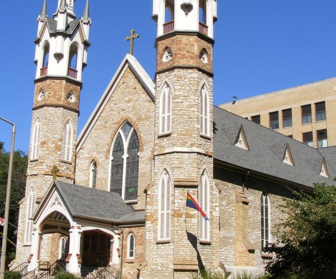St. Mark's is proud of its long and meaningful history in downtown Grand Rapids. We celebrate in a gorgeous 19th century Gothic Revival sanctuary, lined with
