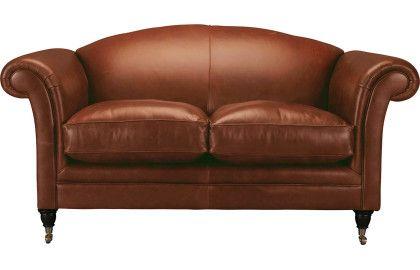 Gloucester Leather 2 Seater Sofa Lauraashley Com Sofas Sofa