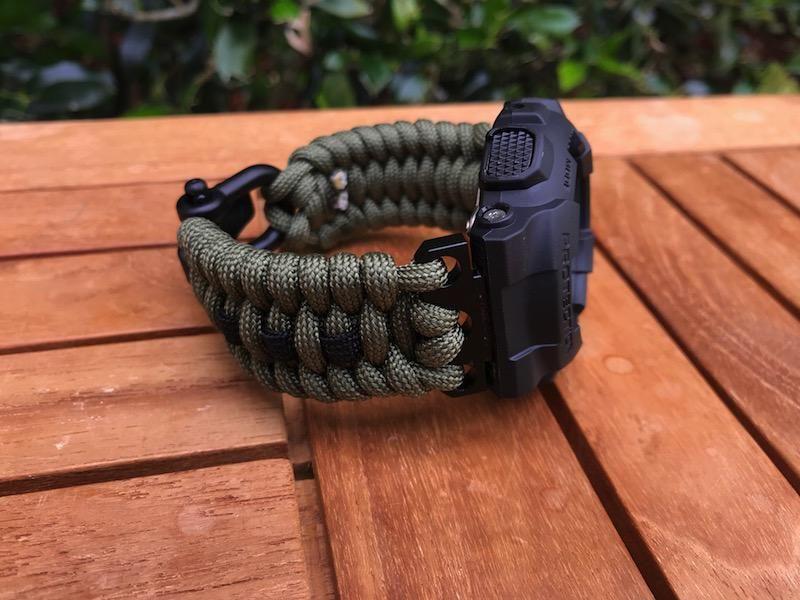 Paracord bracelet Military bangle. NATO strap