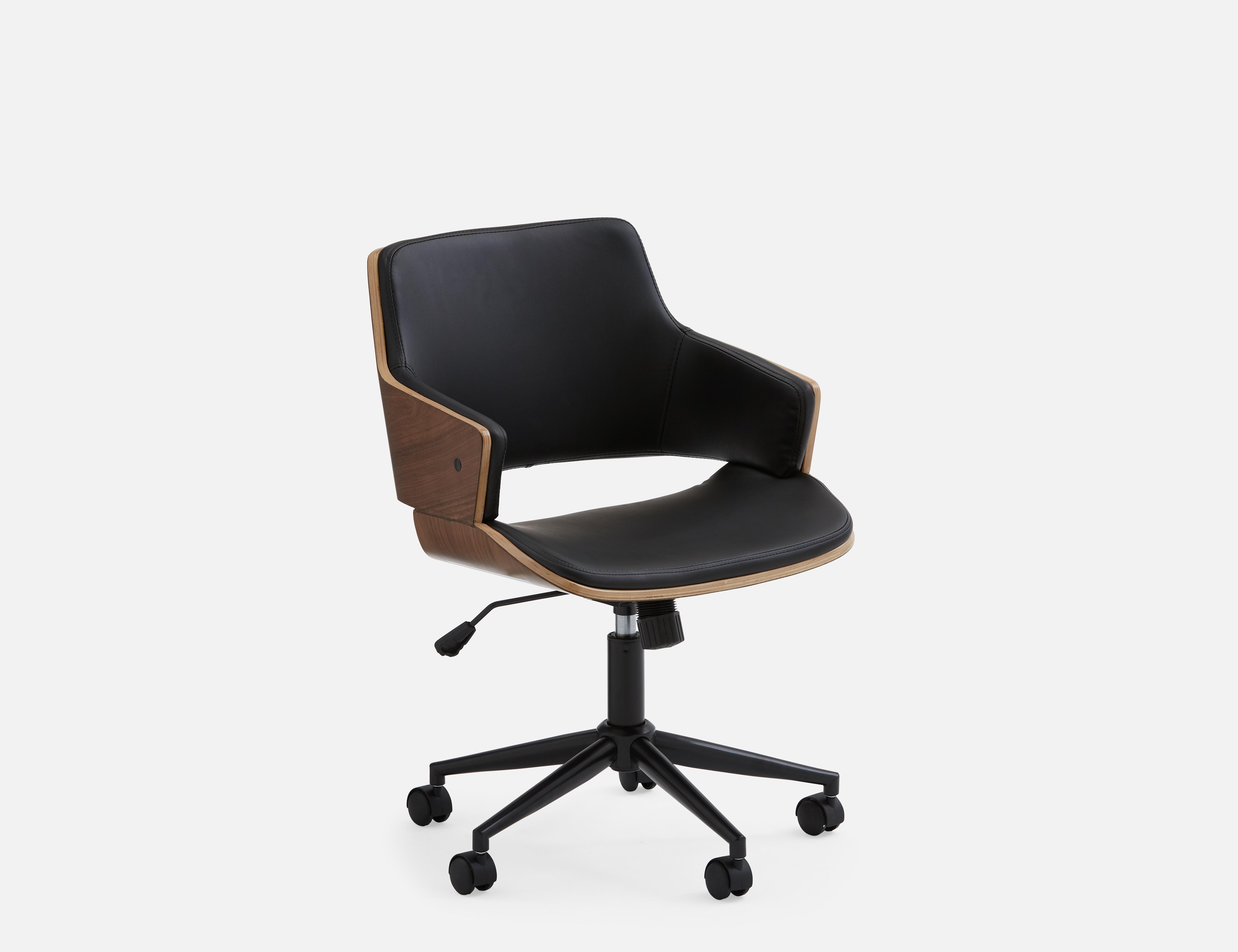 Black Office Chair Structube Galt Black Office Chair Office