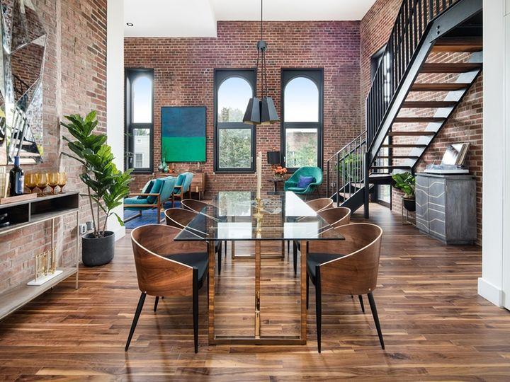 Un appartement en bleu à New York - PLANETE DECO a homes world ...