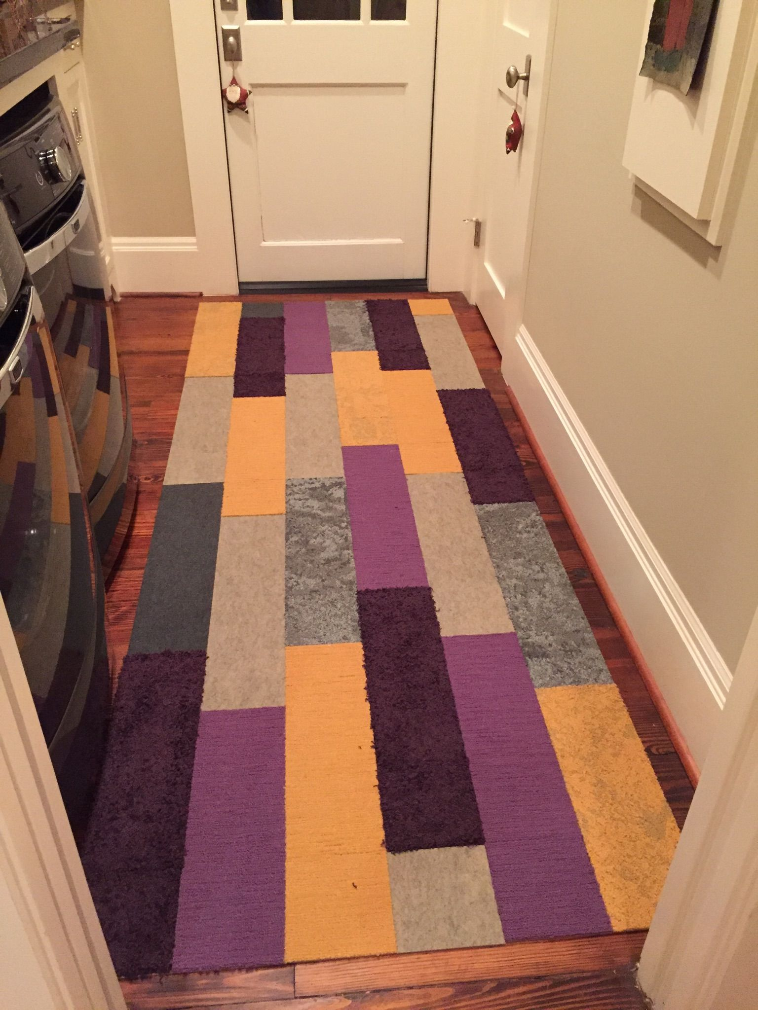 Fun runner in this laundry room flor carpet tiles down to earth fun runner in this laundry room flor carpet tiles down to earth marigold baanklon Image collections