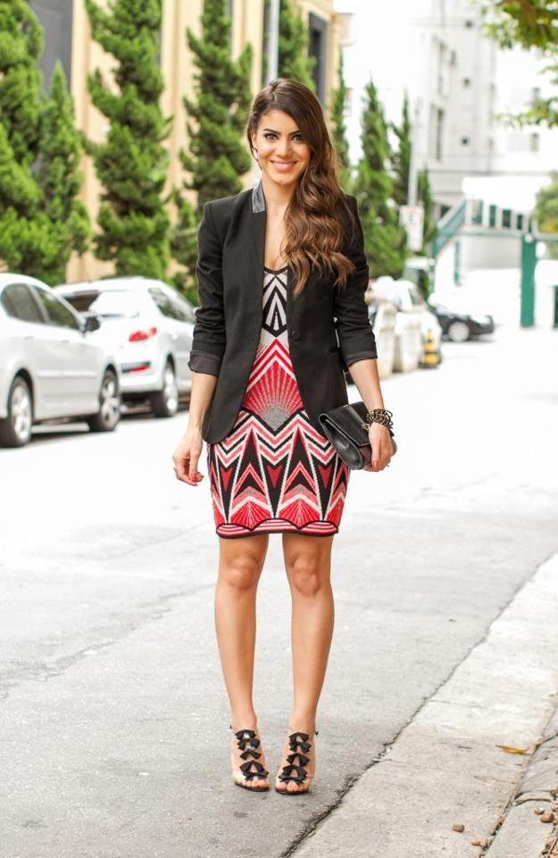 COLCCI Brazil : Geometric Dress :: Fall 2013