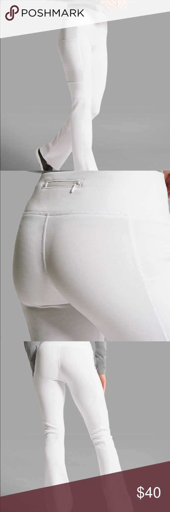 8a2c3c91bba NWT Jaanuu White Yoga Scrub Pants Brand new Jaanuu white yoga scrub pants!  I have too many white pants and cannot return these so I am willing to let  this ...