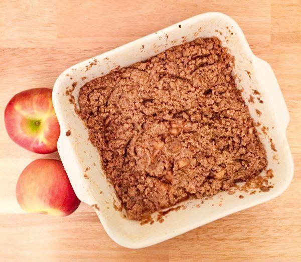Gluten-Free Homestyle Apple Crisp