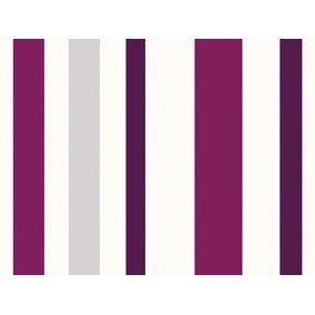 Schoner Wohnen Kollektion Vliestapete Streifen Violett Kaufen Bei Obi Tapeten Schoner Wohnen Violett