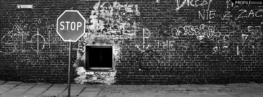 black and white cover photos | black and white wall facebook cover