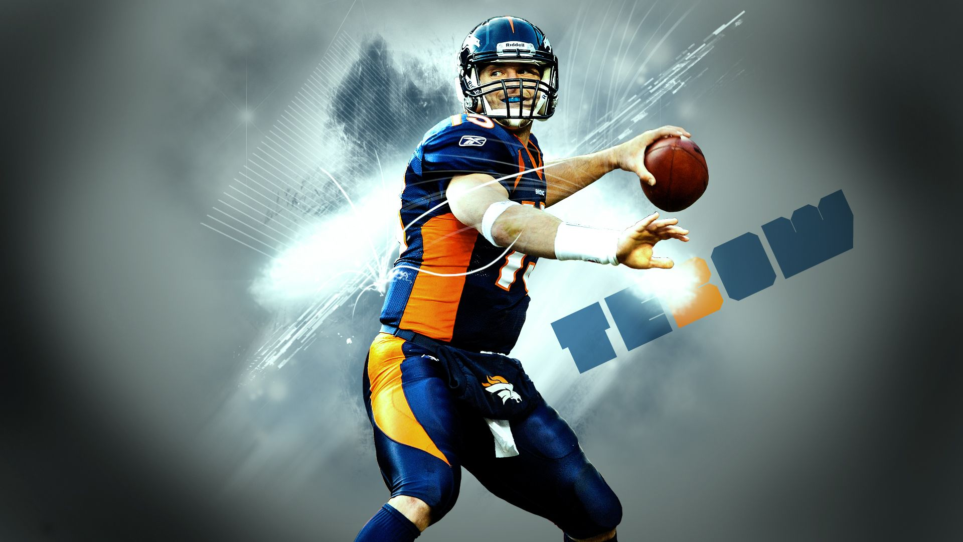 Tim Tebow (Denver Broncos) Full HD Wallpaper 1080p
