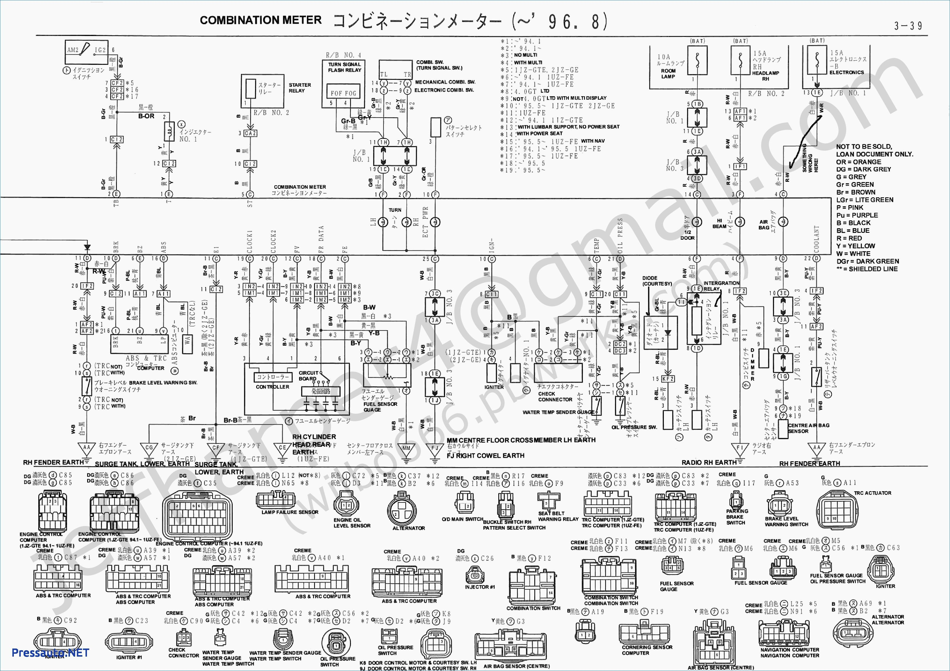 1jz Engine Diagram - Wiring Diagram Web
