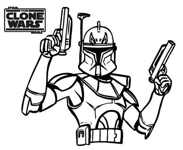 Star The Clone Wars Coloring Books Halaman Mewarnai Darth Vader Chewbacca