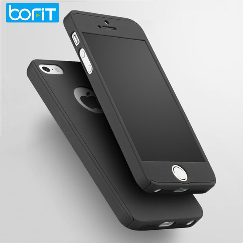 low priced addea d395a BOFIT For Apple iPhone SE 5s 5 Case 360 Degree Front Back Full ...