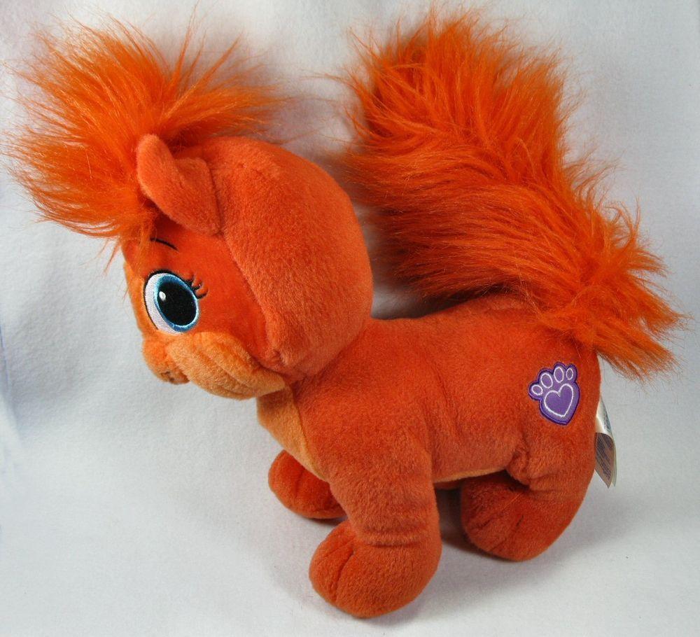 "Build A Bear 15"" Orange Plush Palace Pet Treasure Soft"