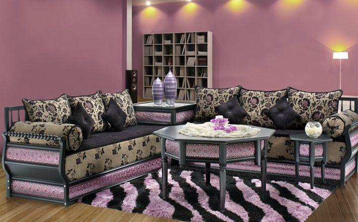 Salon marocain, décoration orientale | Salon marocain | Pinterest ...