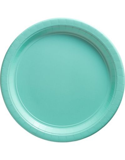 Brighten up your table setting with Robin\u0027s Egg Blue Paper Dinner Plates! Package includes 20 robin\u0027s egg blue paper plates measuring 10 inches in diameter.  sc 1 st  Pinterest & Paper dinner plates | Tiffany Blue Engagment Party | Pinterest ...