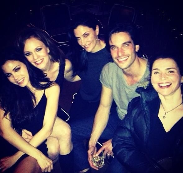 The Cast Back Together Witches Of East End Witch Great Movies