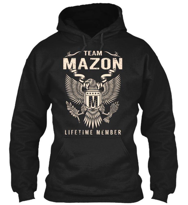 Team MAZON Lifetime Member #Mazon