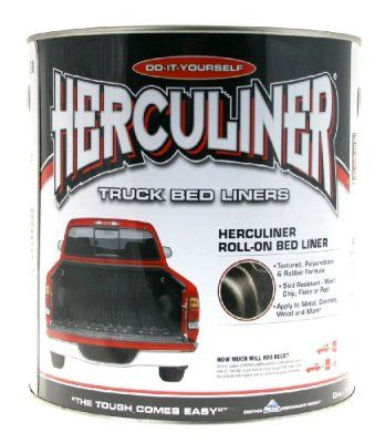 Herculiner Hcl1b8 Brush On Bed Liner Kit For The Interior And Parts Of The Exterior After I Clean The Rust