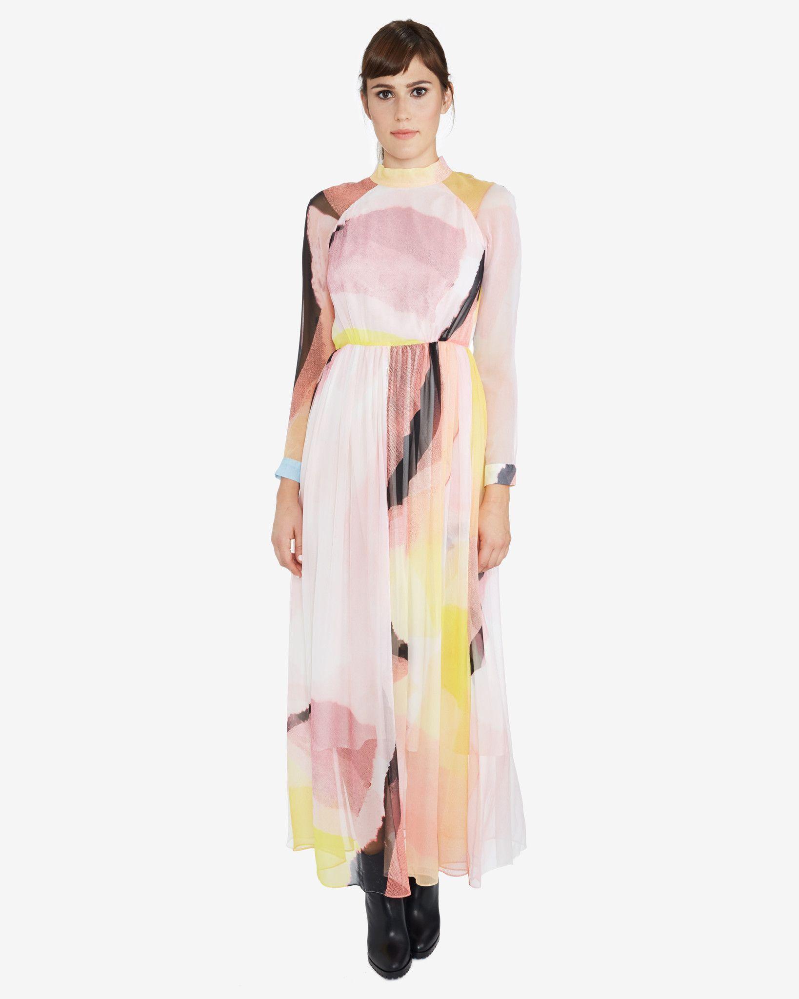 Rachel Comey Miramar Silk Dress | Pink | Dresses, Silk dress