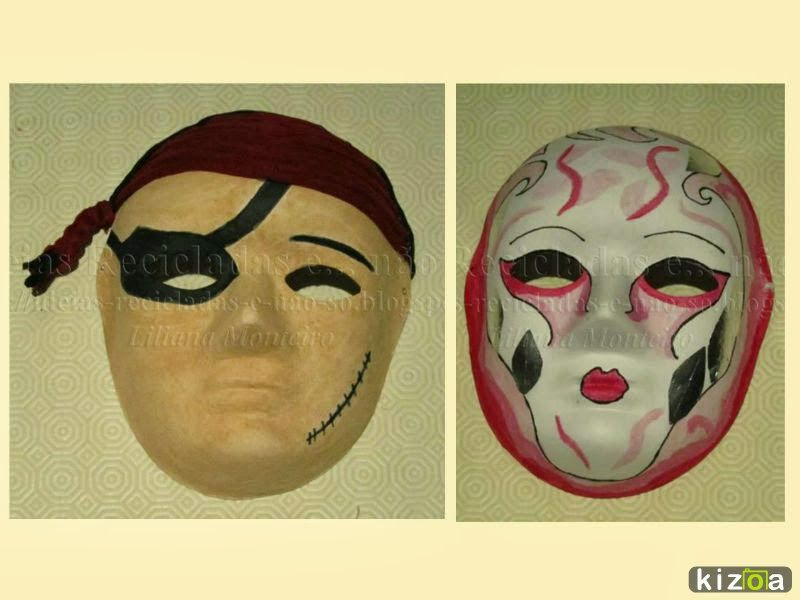 Como decorar uma Mscara de Carnaval com tintas caseiras e no s