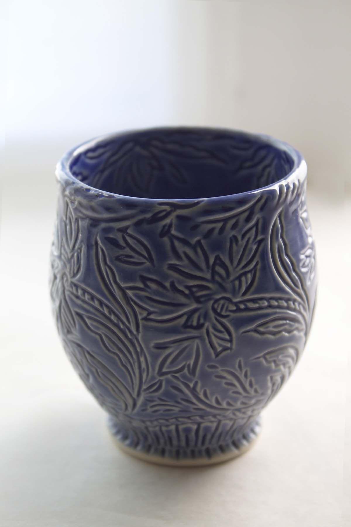 Grace DePledge tea bowl.