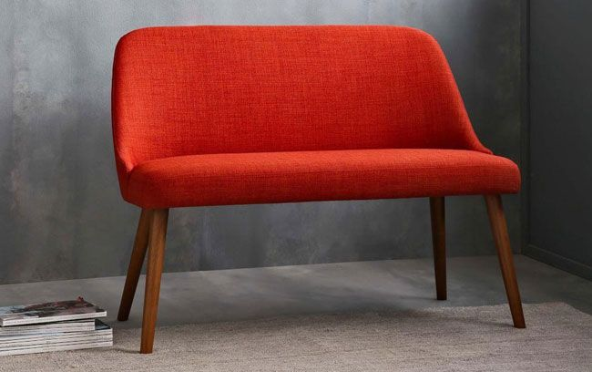 Superb Mid Century Dining Bench At West Elm