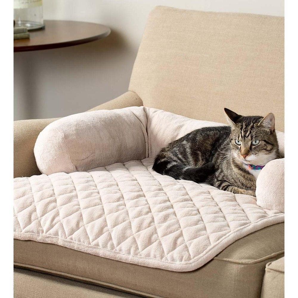 Chair Bolster Pillow Furniture Cover For Pets Cream Plow