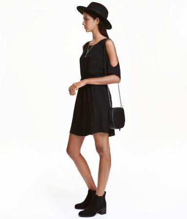 Kleid hm schwarz