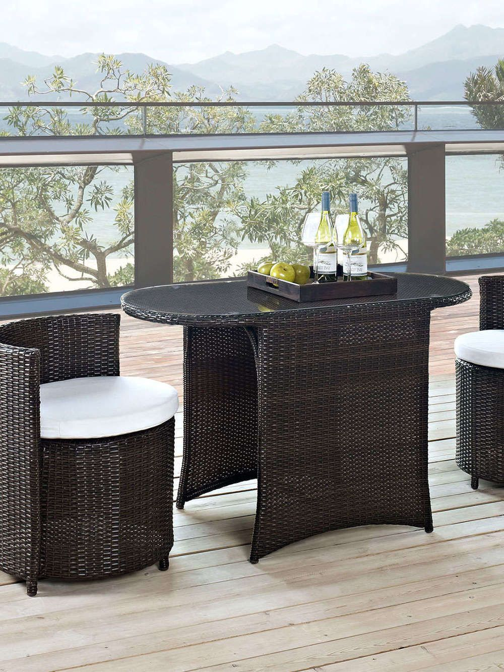 space saving outdoor dining tables