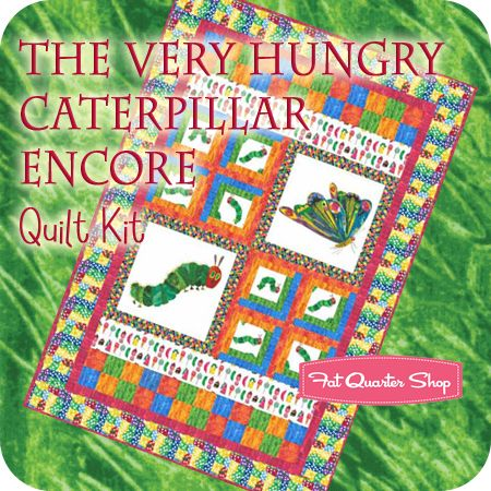 The Very Hungry Caterpillar Encore Quilt Kit Jean Ann Wright for ... : eric carle quilt kits - Adamdwight.com
