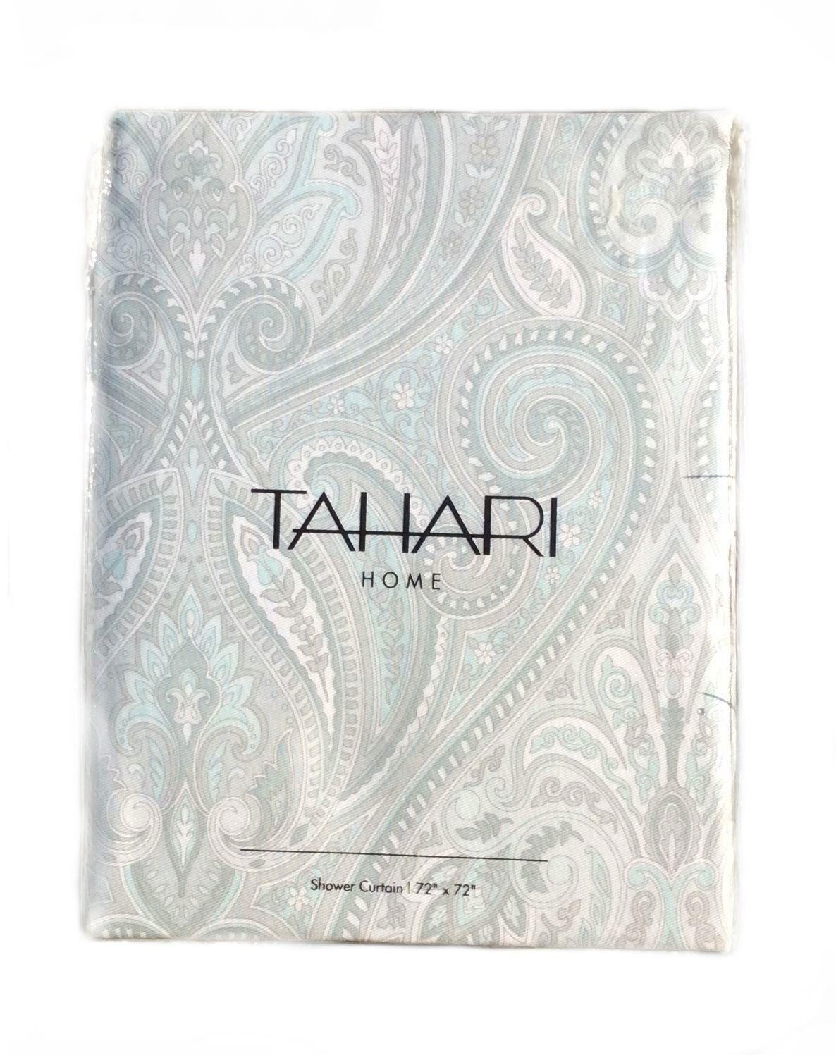 tahari home fabric shower curtains
