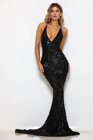 Black Evening Gowns Uk Formal Dresses Little Black Dresses