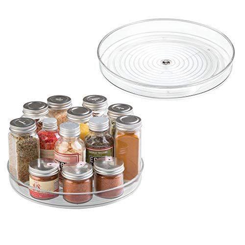 Spice Organization Turntable - Turntable Organizer  Pack of 2 & 4... #SpiceOrganization #Turntable