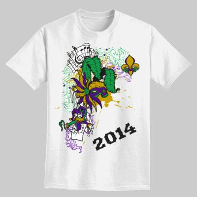 4be29bff Mardi Gras Custom T-Shirts | Crafts | Family reunion shirts, Mardi ...