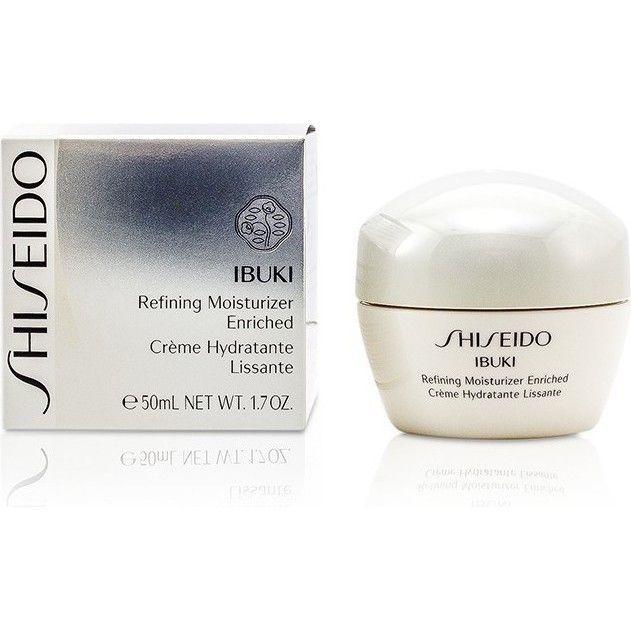 Shiseido Ibuki Refining Moisturiser Enriched Cream Moisturizer Cream Moisturizer Moisturiser