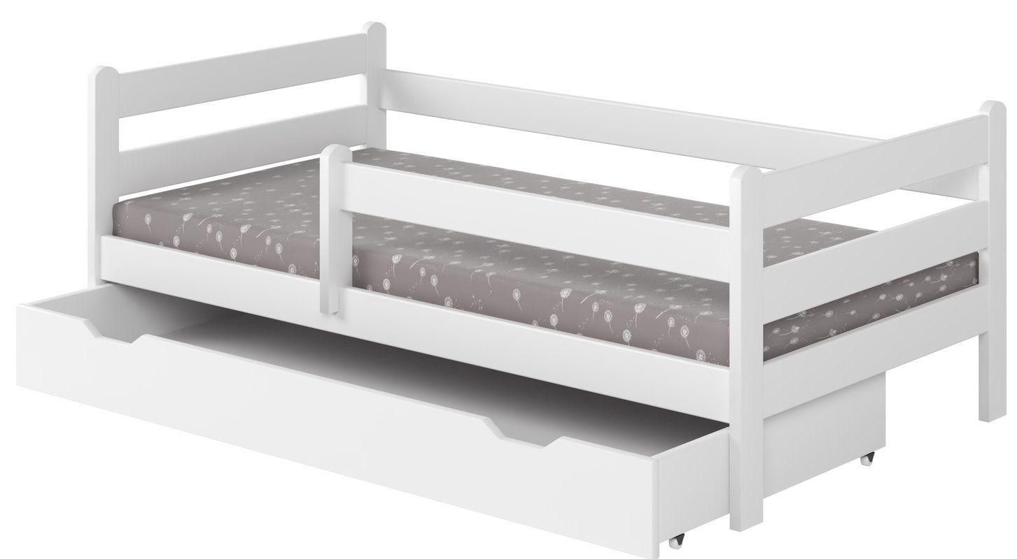 Anabelle Convertible Toddler Bed With Sliding Drawer Chambre