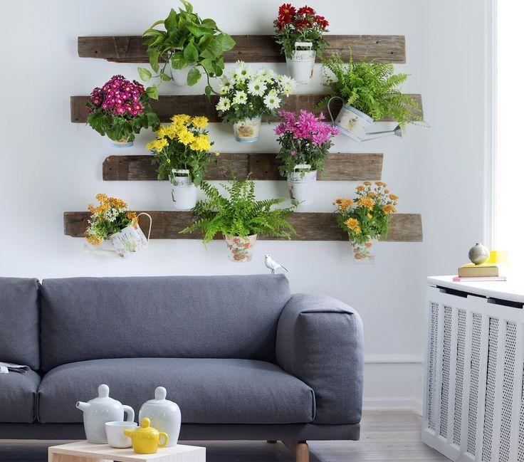 Jardines verticales interiores, dale un toque fresco y divertido a