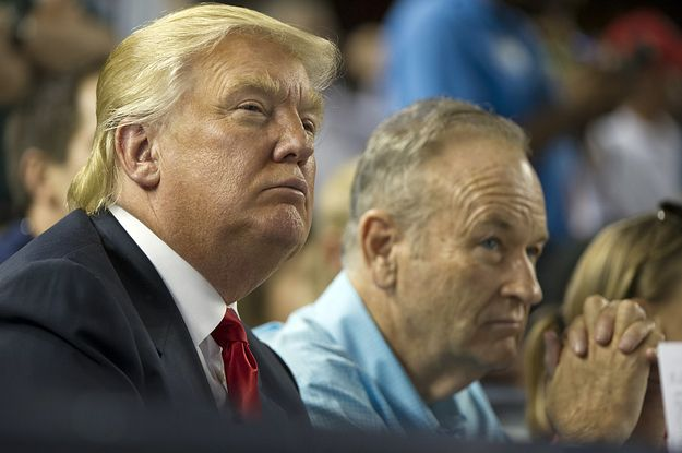Trump Defends Alleged Harasser Bill O'Reilly During Sexual Assault Awareness Month