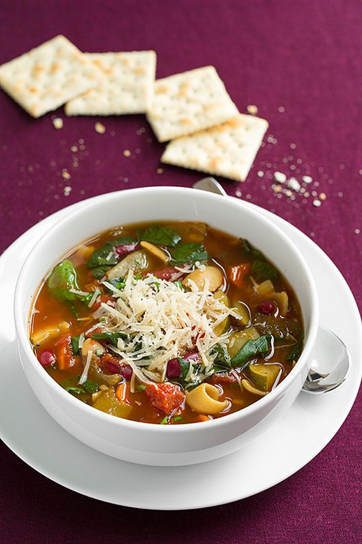 Slow Cooker Minestrone Soup Slow Cooker Soup Italian Soup Vegetarian Slow Cooker Recipes