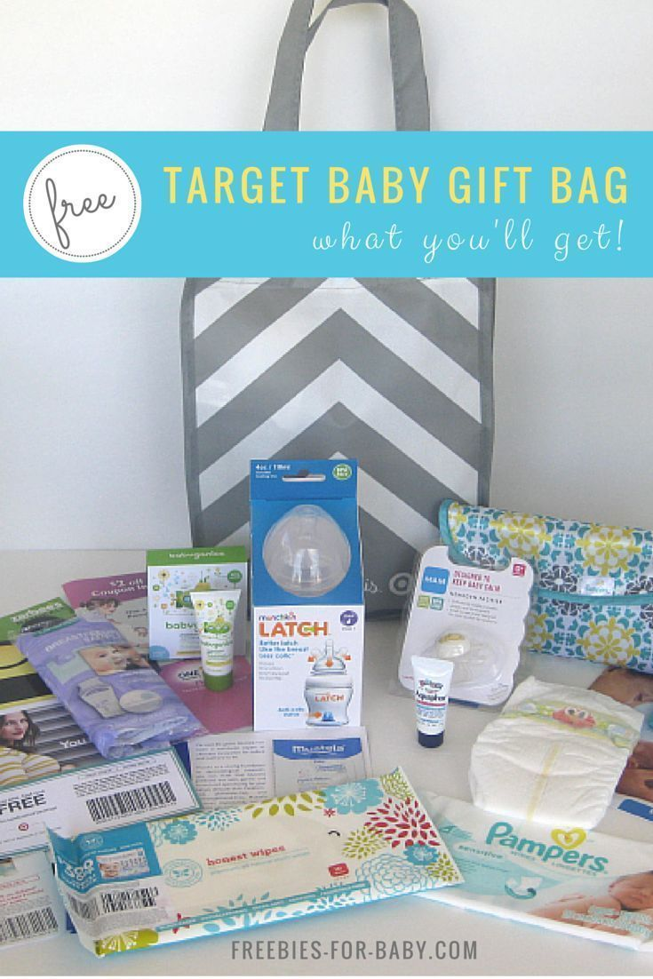 Free Target Gift Registry Baby Welcome Bag 71 Value Target