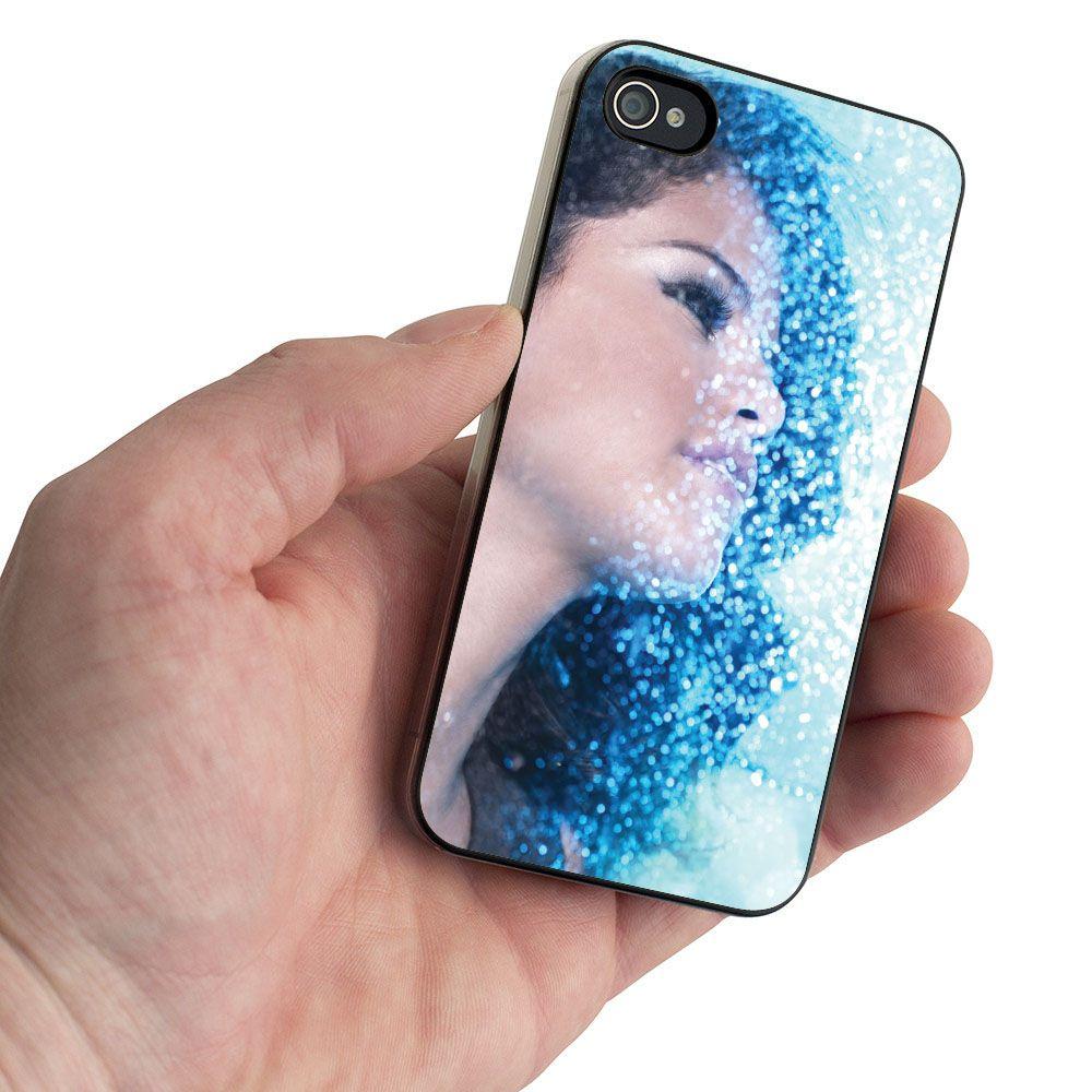 Selena Gomez Beautiful In Glittering Blue Swx Design For Iphone  Case Iphone  Case