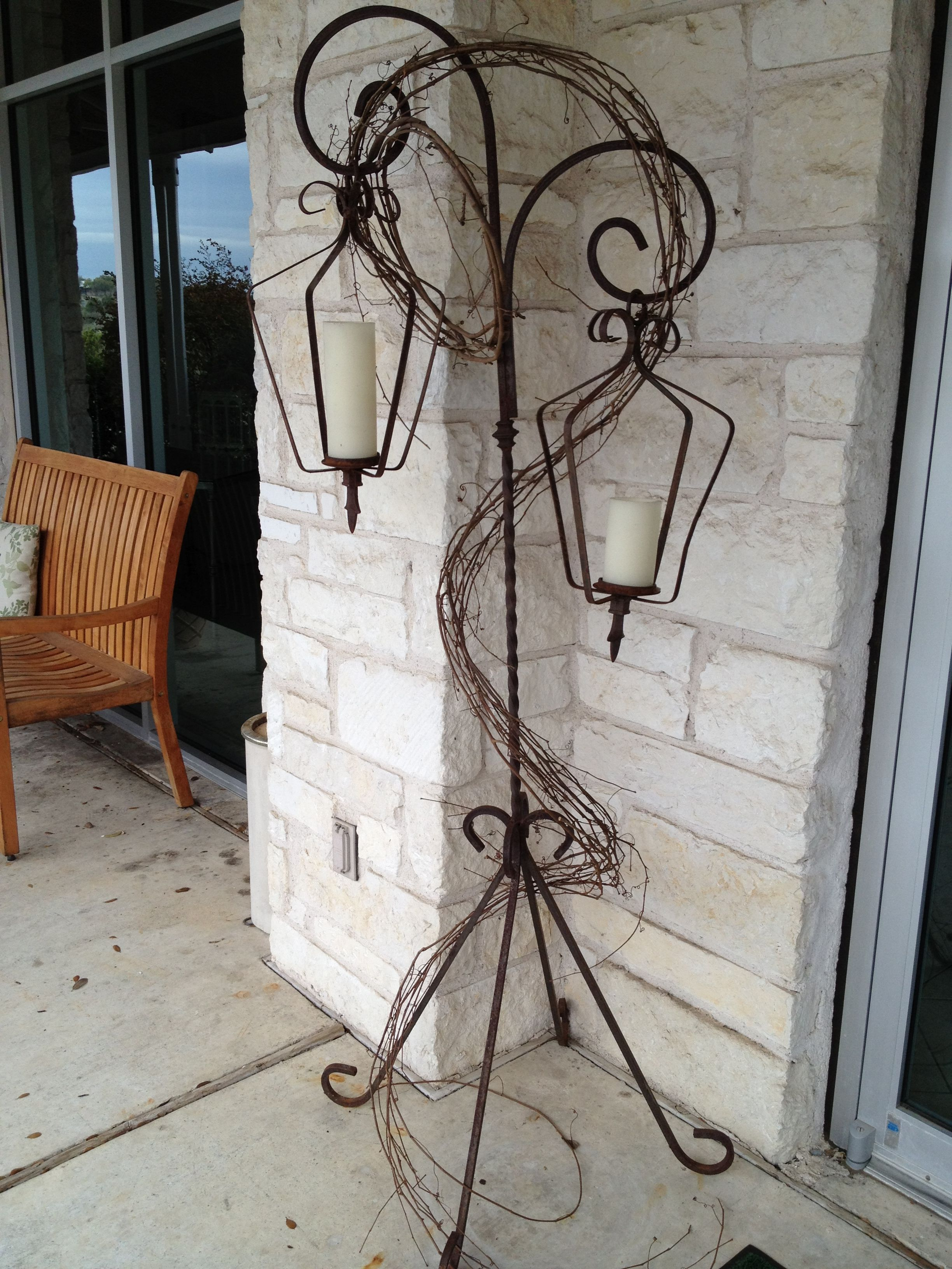 Wrought iron lanterns with stands decorating ideas pinterest wrought iron lanterns with stands mozeypictures Images